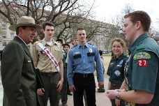Partnership between Boy Scouts and National Park Service